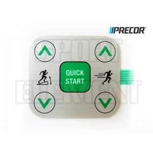 Кнопка беговой дорожки Quick Start Precor 954i/932i