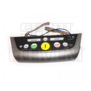 Накладка с кнопками беговой дорожки Spirit XT-285/385/485/685
