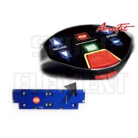 Плата кнопок старт/стоп беговой дорожки AeroFIT PRO 9900T