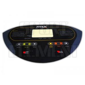 Наклейка панели монитора беговой дорожки Fitex IMT 7730